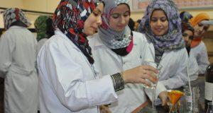 مختبرات قسم الكيمياء